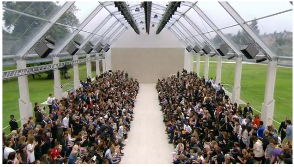 London's Men's Fashion Week - Burberry